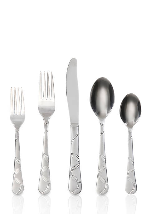 Cambridge Silversmiths Felicity Frost 20-Piece Flatware Set