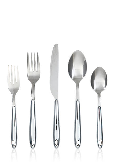 Cambridge Silversmiths Marvel Chrome 20-Piece Flatware Set with