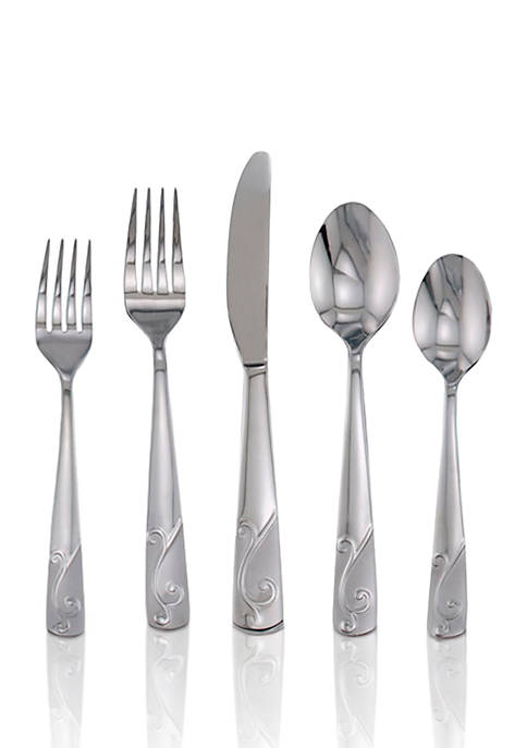 Tula Frost 20-Piece Flatware Set