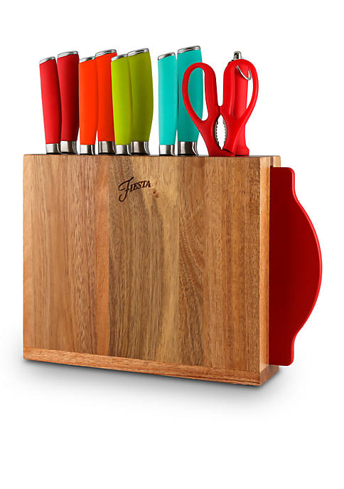Fiesta® Fiesta 12 Piece Cutlery Block Set