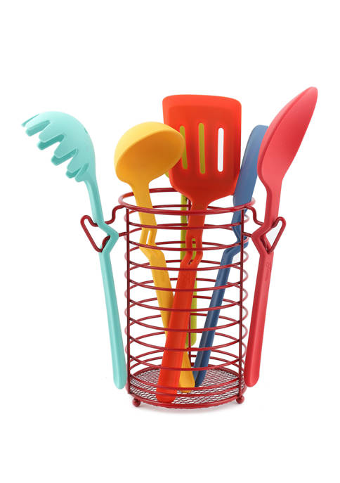 7 Piece Fiesta Silicone Utensil Set