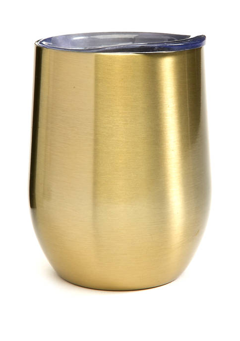 Cambridge Silversmiths 11 Ounce Champagne Tumbler with Lid