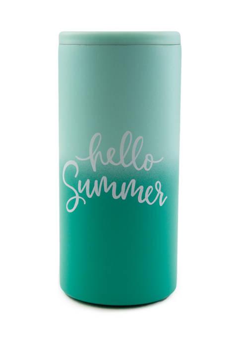 "Cambridge Silversmiths Aqua ""Hello Summer"" Insulated"