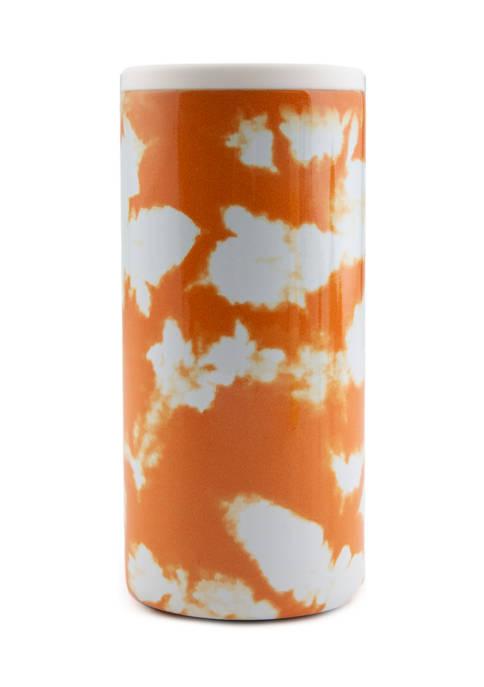 Cambridge Silversmiths Orange Tie Dye Insulated Slim Can