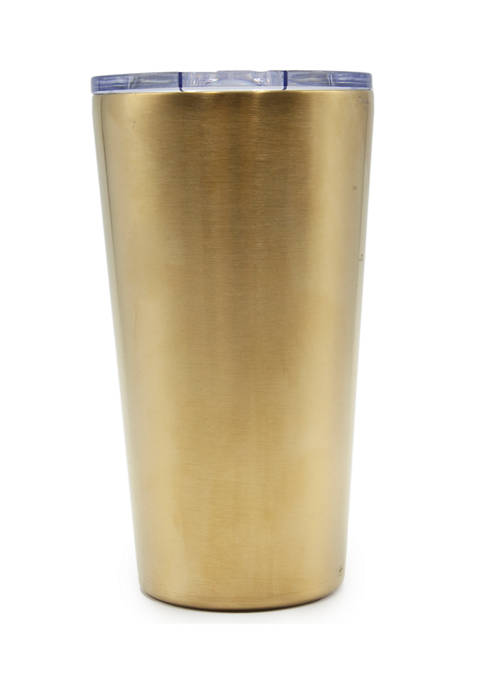 Cambridge Silversmiths 20 Ounce Brushed Gold Insulated Highball
