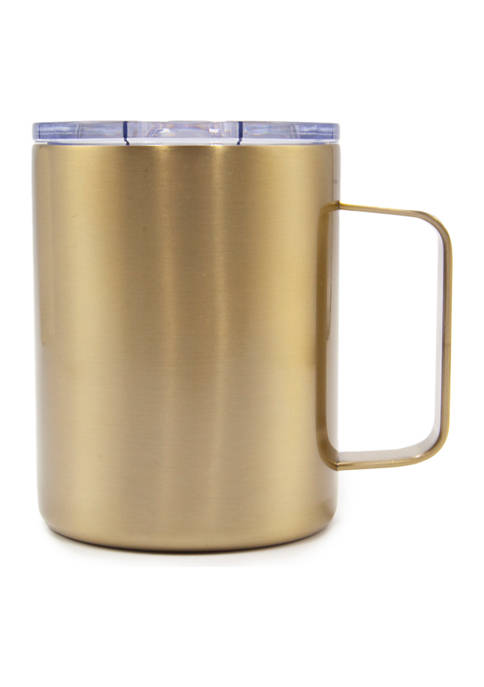 Cambridge Silversmiths 16 Ounce Brushed Gold Insulated Coffee