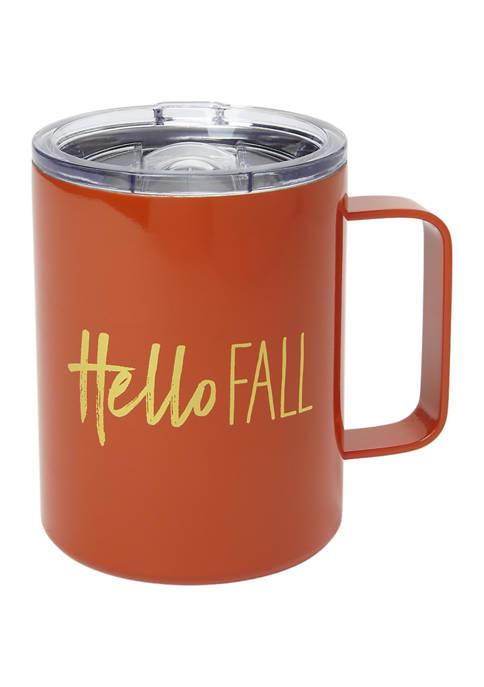 """Cambridge Silversmiths 16 Ounce """"Hello Fall"""" Insulated"""