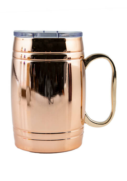 Cambridge Silversmiths 20 Ounce Insulated Copper Beer Mug