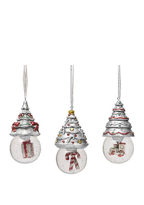 Celebrations by Mikasa Set of 3 Christmas Tree