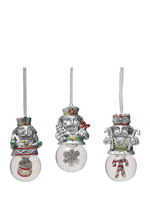 Celebrations by Mikasa Set of 3 Nutcracker Ornaments
