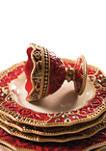 Set of 2 Renaissance Footed Dessert Bowls