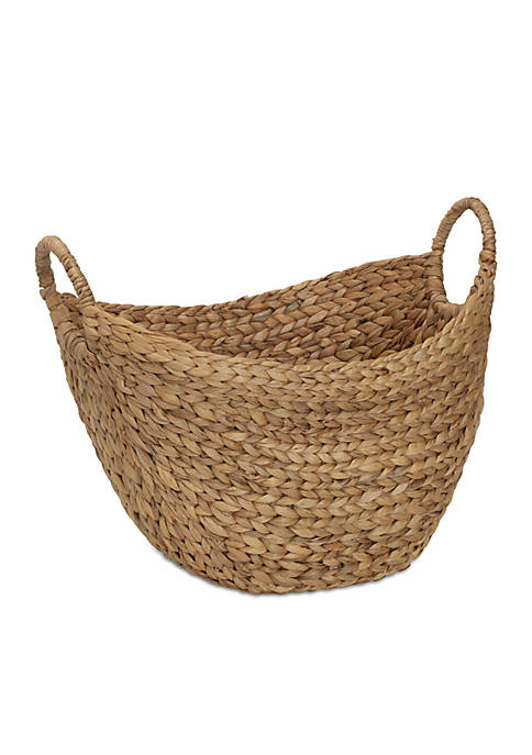 Elements 17-in. Natural Tapered Basket