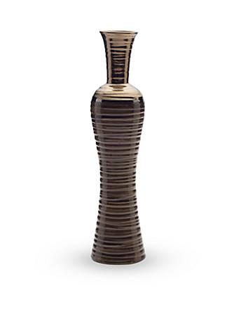 Elements 17 In Brown Fade Hourglass Vase Belk