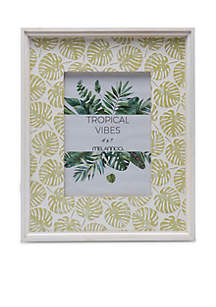 Melannco 5-in. x 7-in. Tropical Vibes Photo Frame