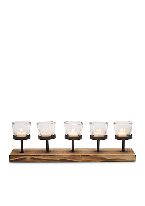 Modern. Southern. Home.™ 5 Light Metal and Wood