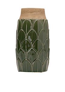 Stoneware Artichoke Vase