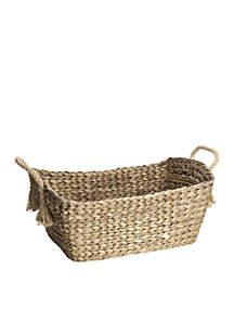 Natural Rope Water Hyacinth Basket