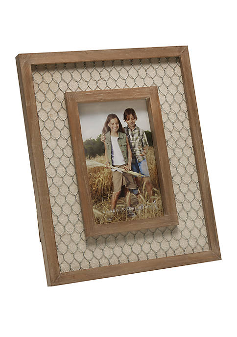 Chickenwire Wood Frame