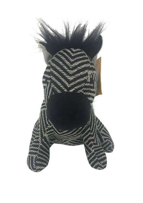 Elements Zebra Door Stopper