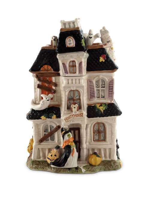 Fitz and Floyd Halloween Harvest Haunted House Cookie