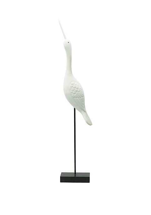 Elements White Bird Stand