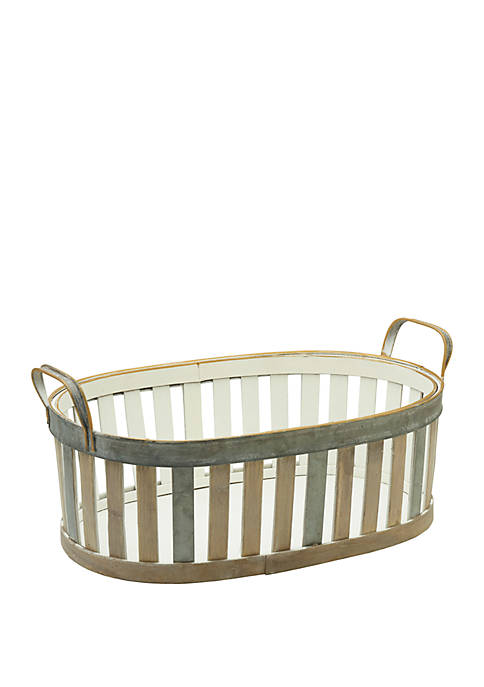 Elements Bamboo Small Basket