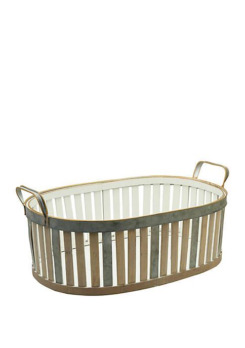 Elements Bamboo Large Basket
