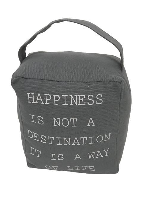 Elements Happiness Door Stopper