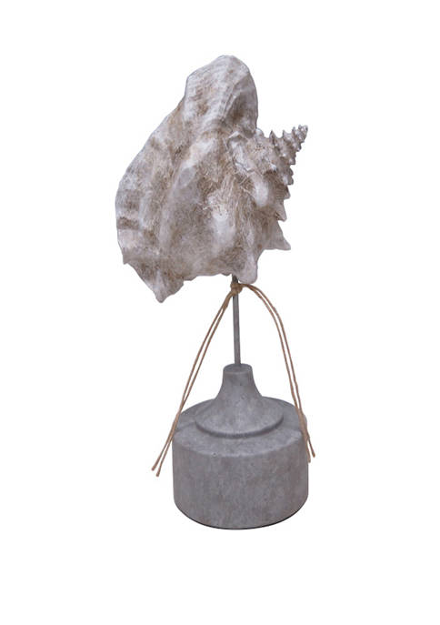 Elements 13 Inch Seashell Figurine