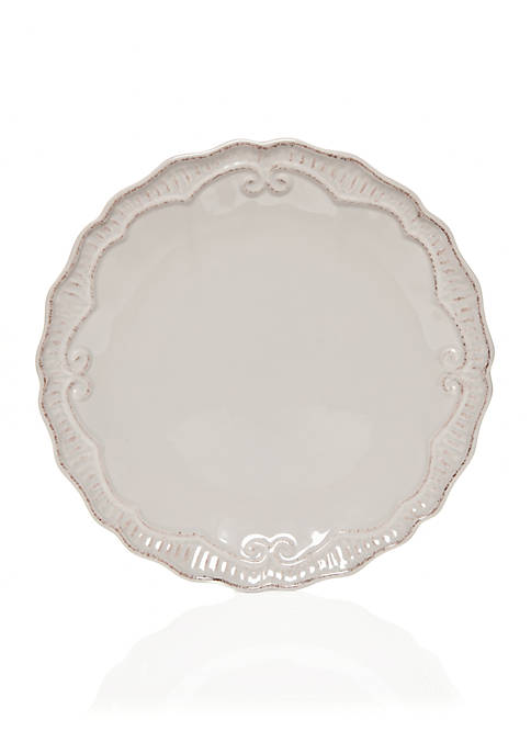 Home Accents® Capri Gray Dinner Plate