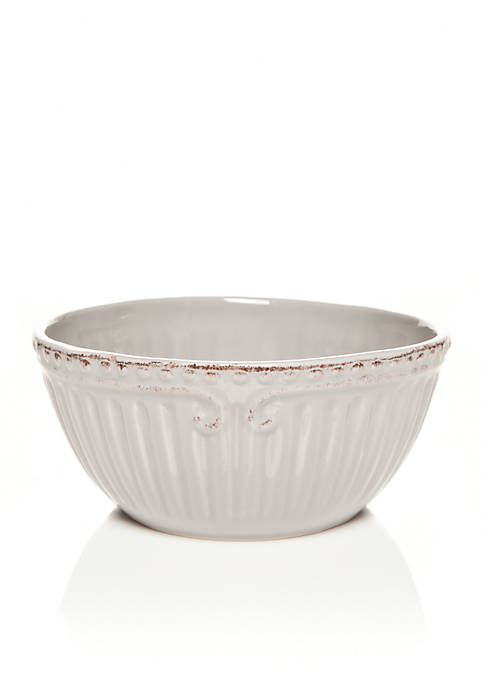 Home Accents® Capri Gray Cereal Bowl