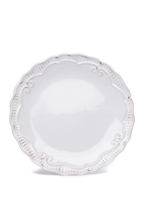 Home Accents® Capri White Dinner Plate