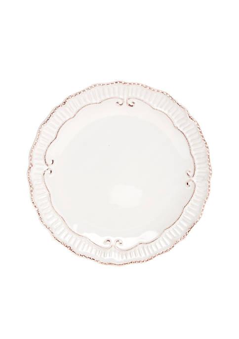 Home Accents® Capri White Salad Plate