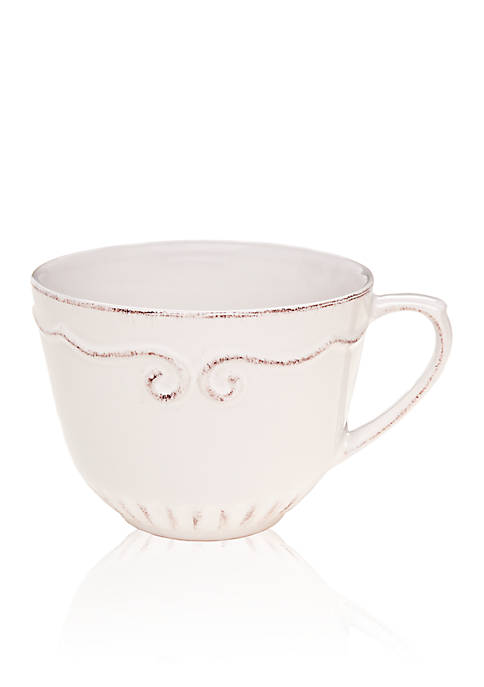 Home Accents® Capri White Latte Mug