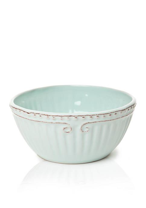 Home Accents® Capri Robins Egg Cereal Bowl