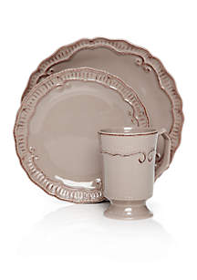 Home Accents® Capri Taupe Dinnerware Collection
