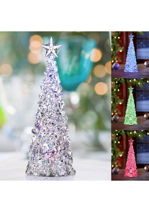 Apothecary & Company™ Acrylic LED Color Changing Christmas