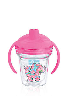 6-oz. Simply Southern Floral Elephant Sippy Cup