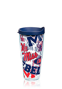Ole Miss Rebels All Over Tumbler
