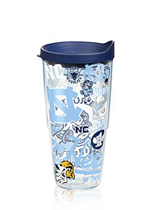 UNC Tarheels All Over Tumbler
