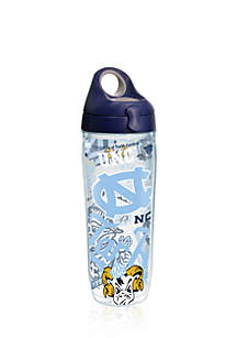 24-oz. North Carolina Tar Heels All Over Water Bottle