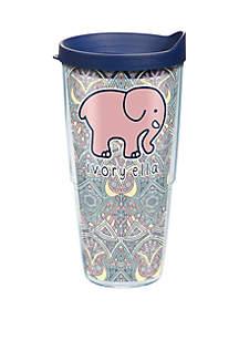 Tervis® Ivy Ella Mosaic Print Plastic Tumbler- 24 oz
