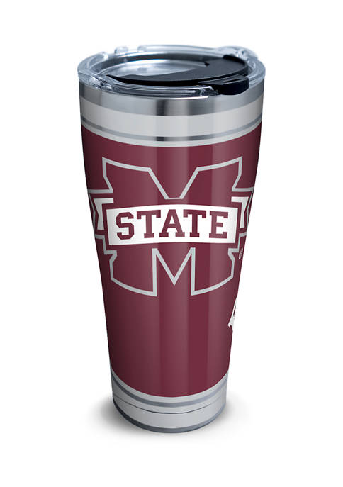 NCAA Mississippi State University Campus 30 oz Stainless Tumbler with Lid