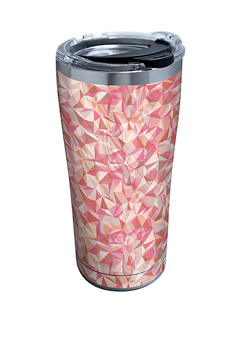 Tervis® Pink Geometric Shapes Stainless Steel- 20 oz