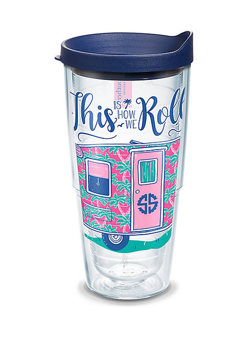 Simply Southern This Is How We Roll Plastic Tumbler- 24 oz