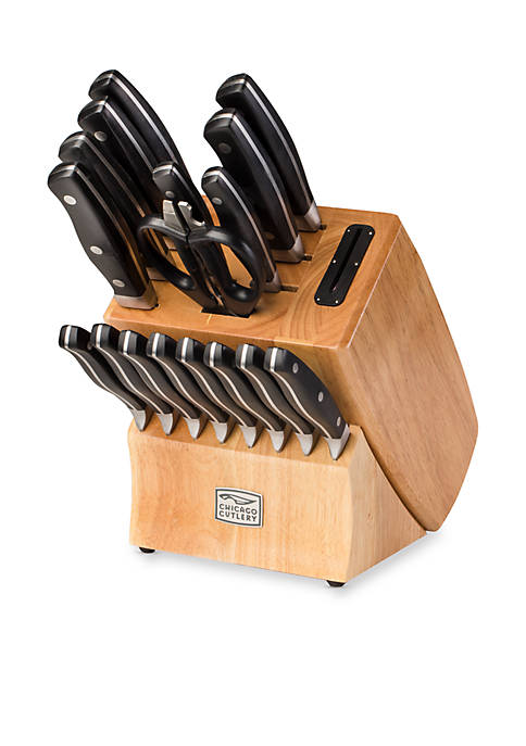 Chicago Cutlery Insignia2™ Steel 18-Piece Block Set