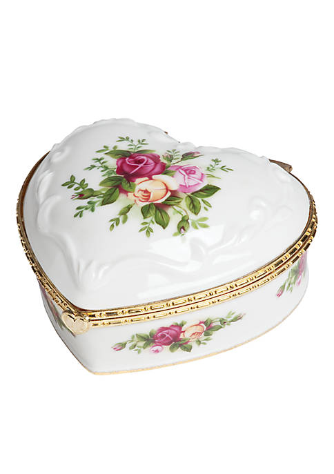 Royal Albert Old Country Roses Muscial Jewerly Box