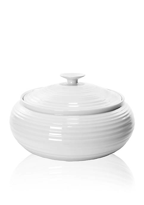 Sophie Conran White Low Covered Casserole