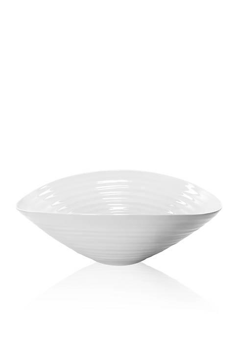 Portmeirion Sophie Conran White Nesting Salad Bowl