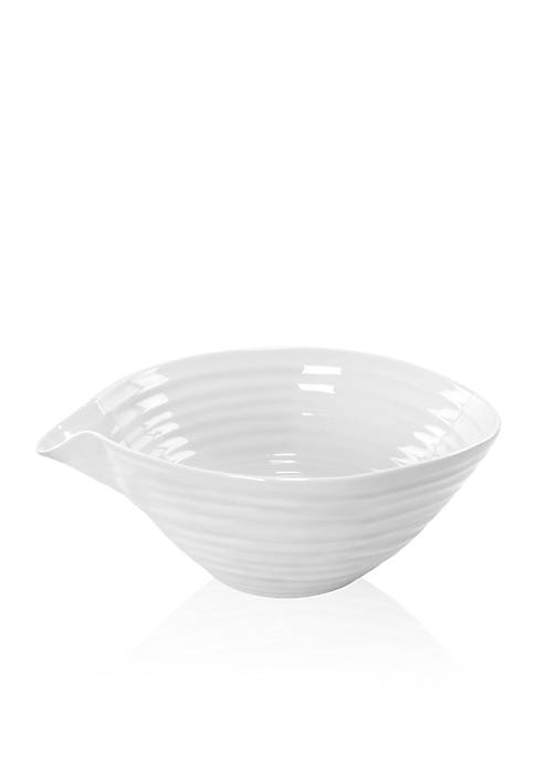 Portmeirion Sophie Conran White Pouring Bowl with Snip